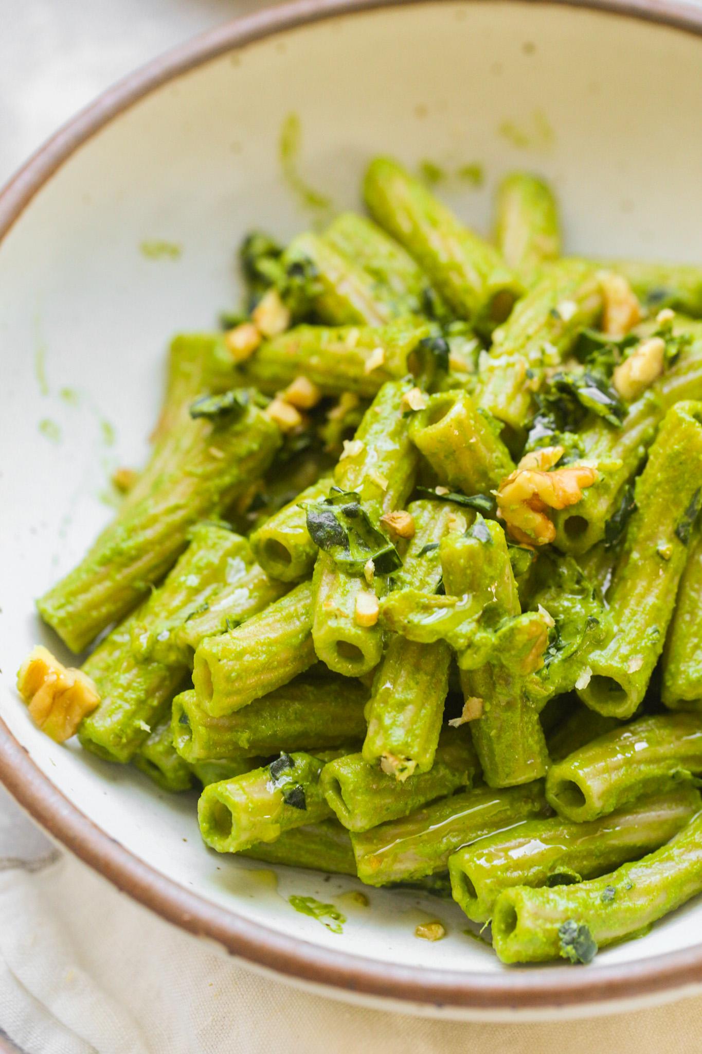 pesto pasta without cheese