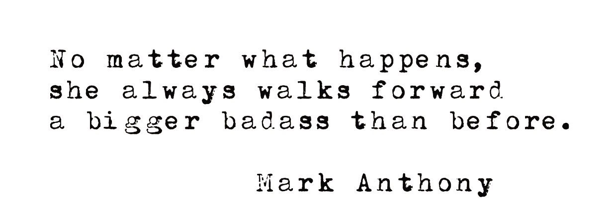 mark anthony badass quote
