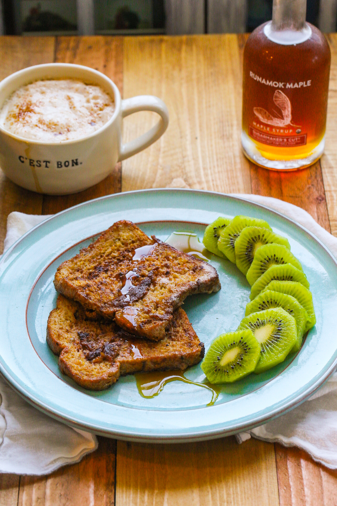banana french toast breakfast