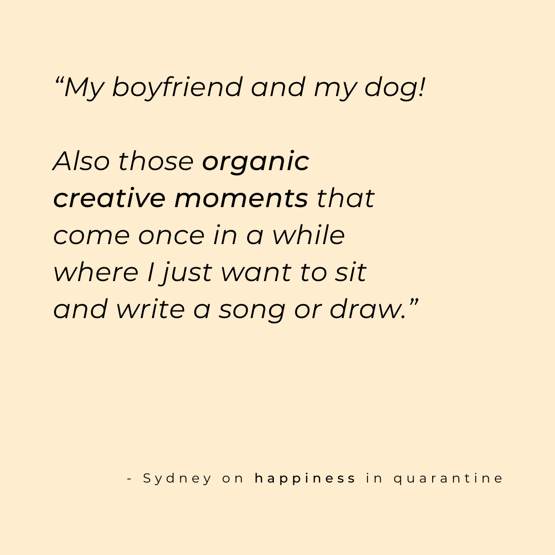 sydney angel quote on happiness