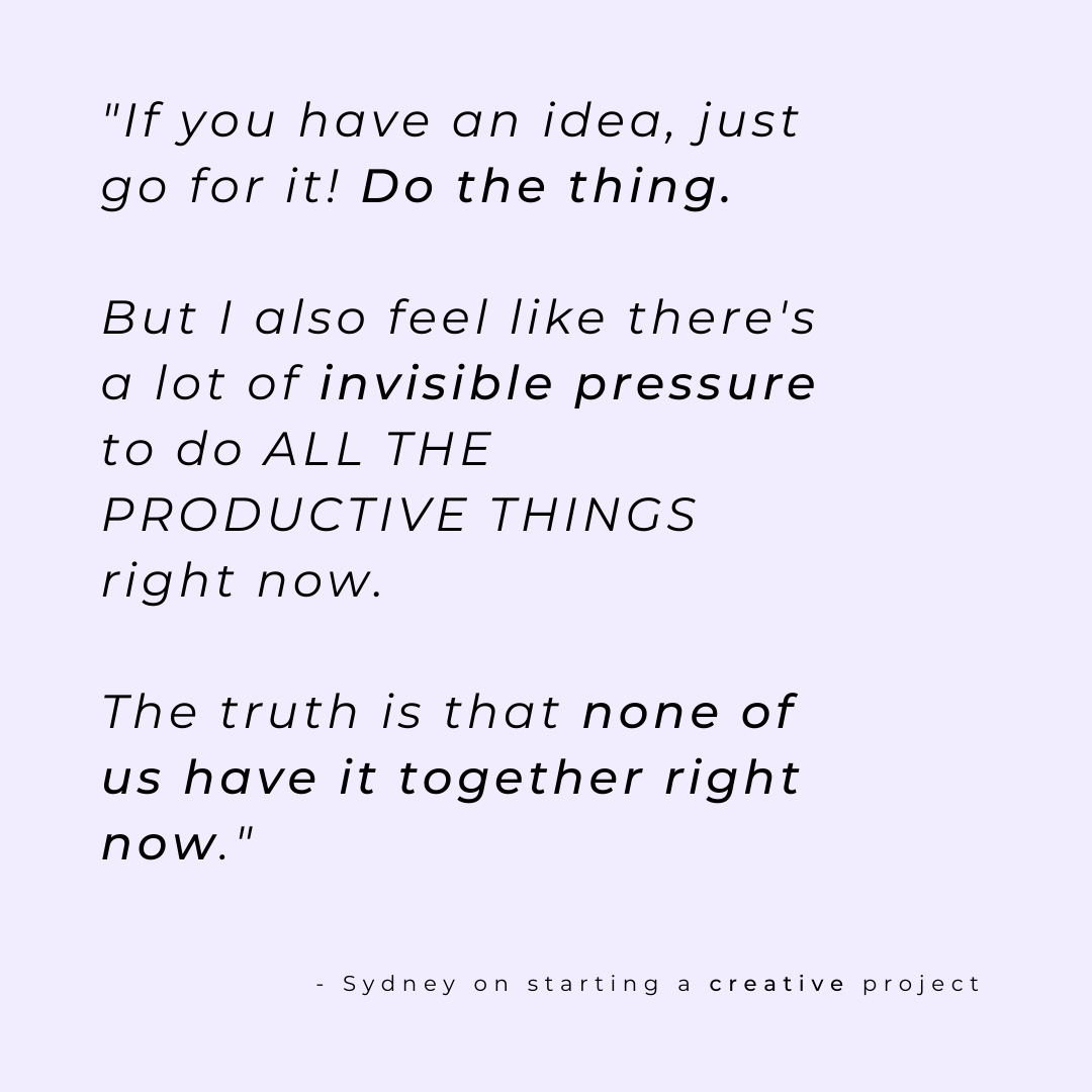 sydney angel quote on creativity