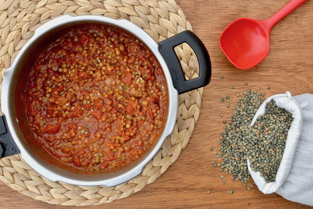 lentils stew