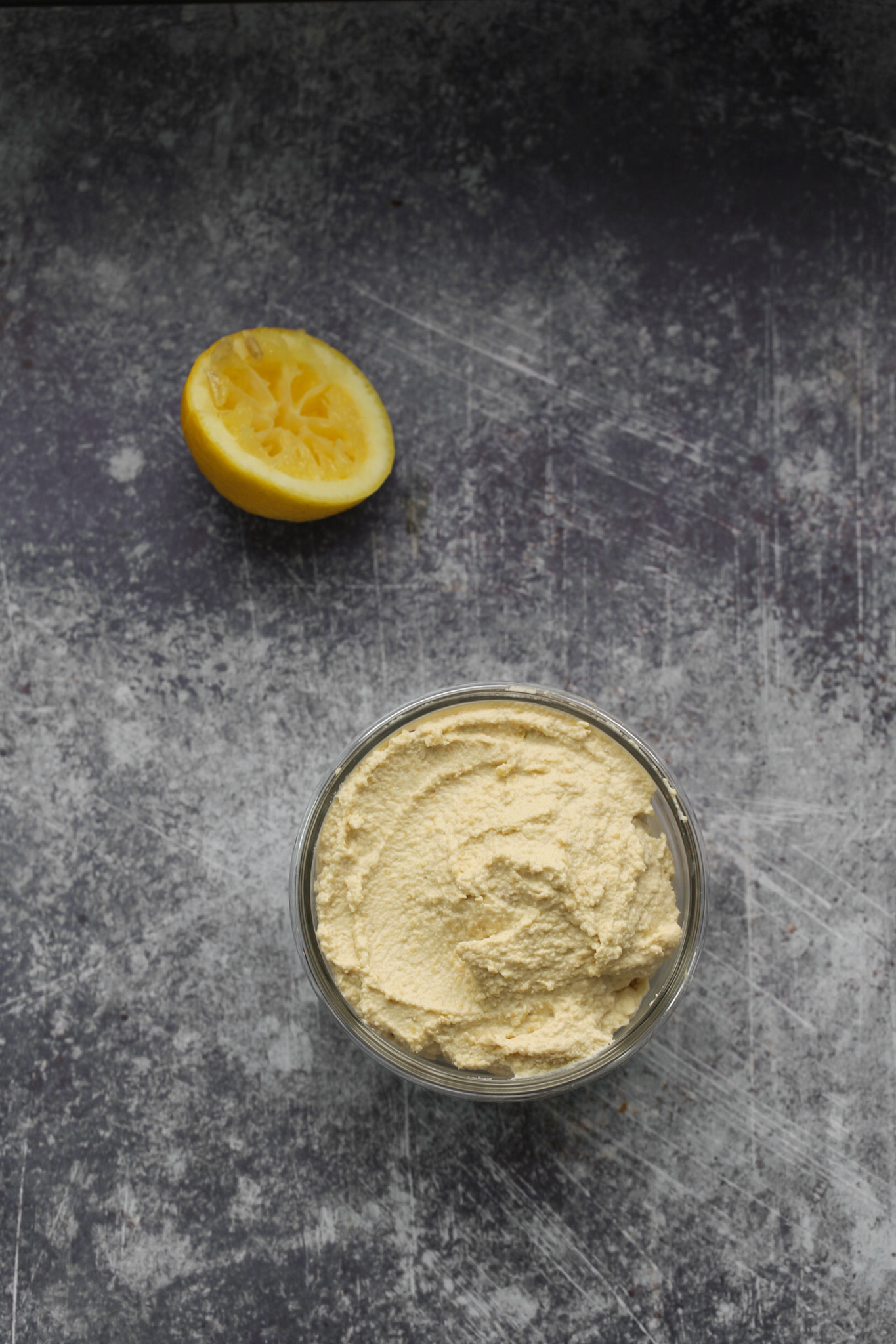 lemony ricotta cheese in a bowl