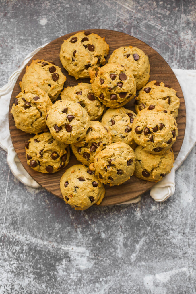 vegan chocolate chip cookies maple-sweetened
