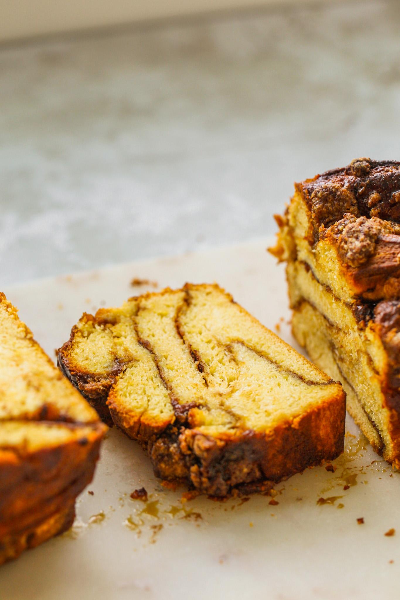 cinnamon swirled babka
