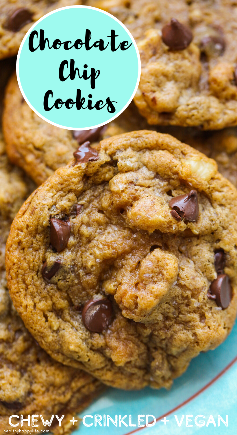 chewy chocolate chip cookies pin