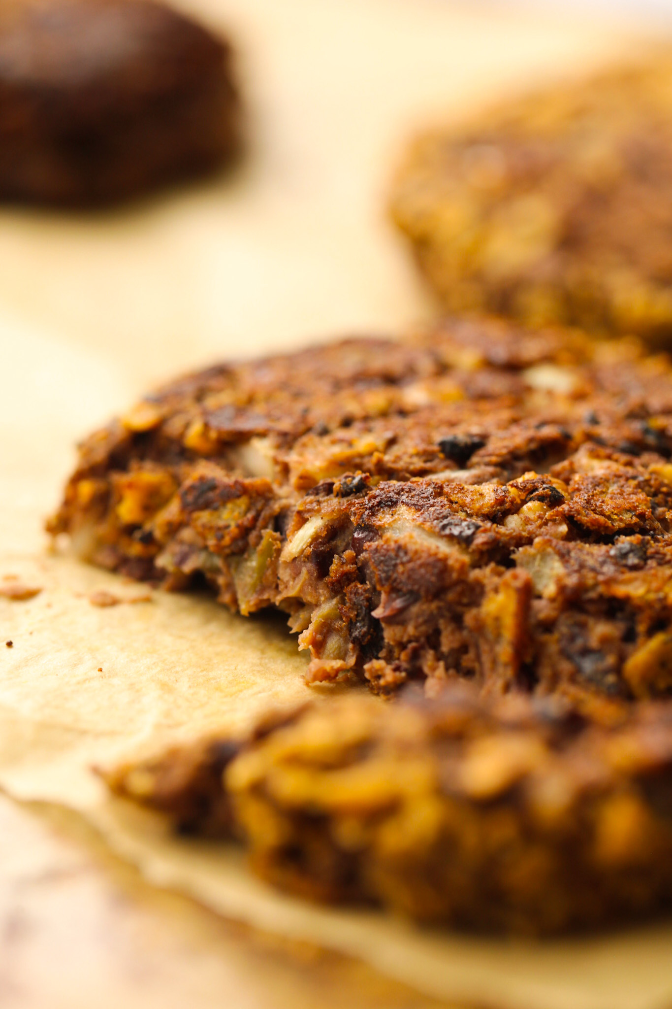 vegan black bean burger patties