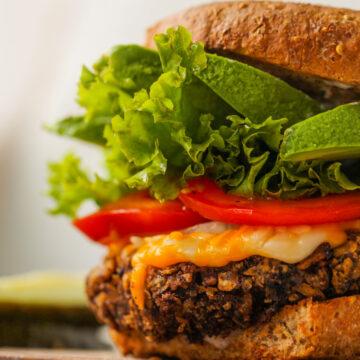 Fiesta Black Bean Burgers - HealthyHappyLife.com 4