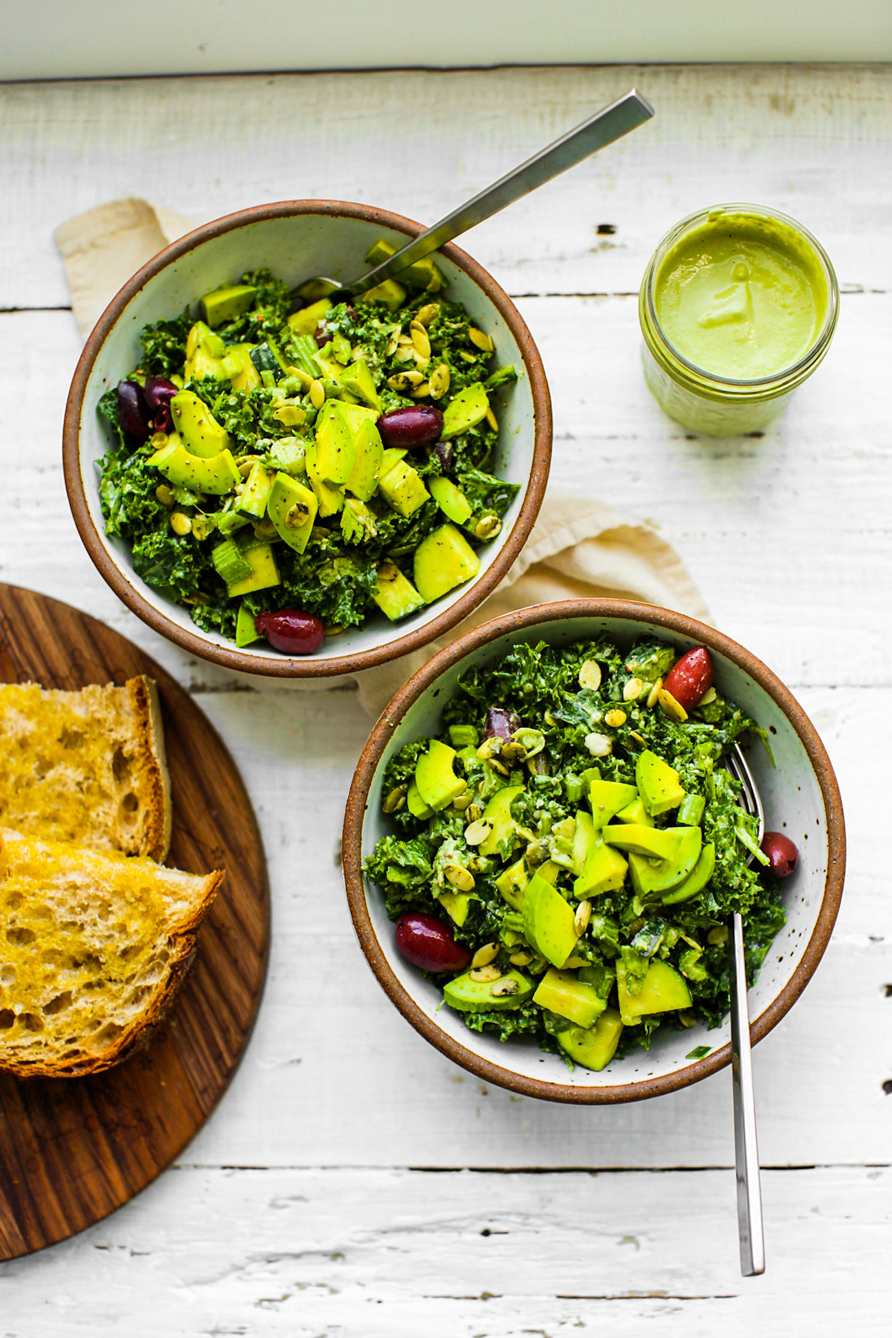 Ultimate Green Goddess Salad