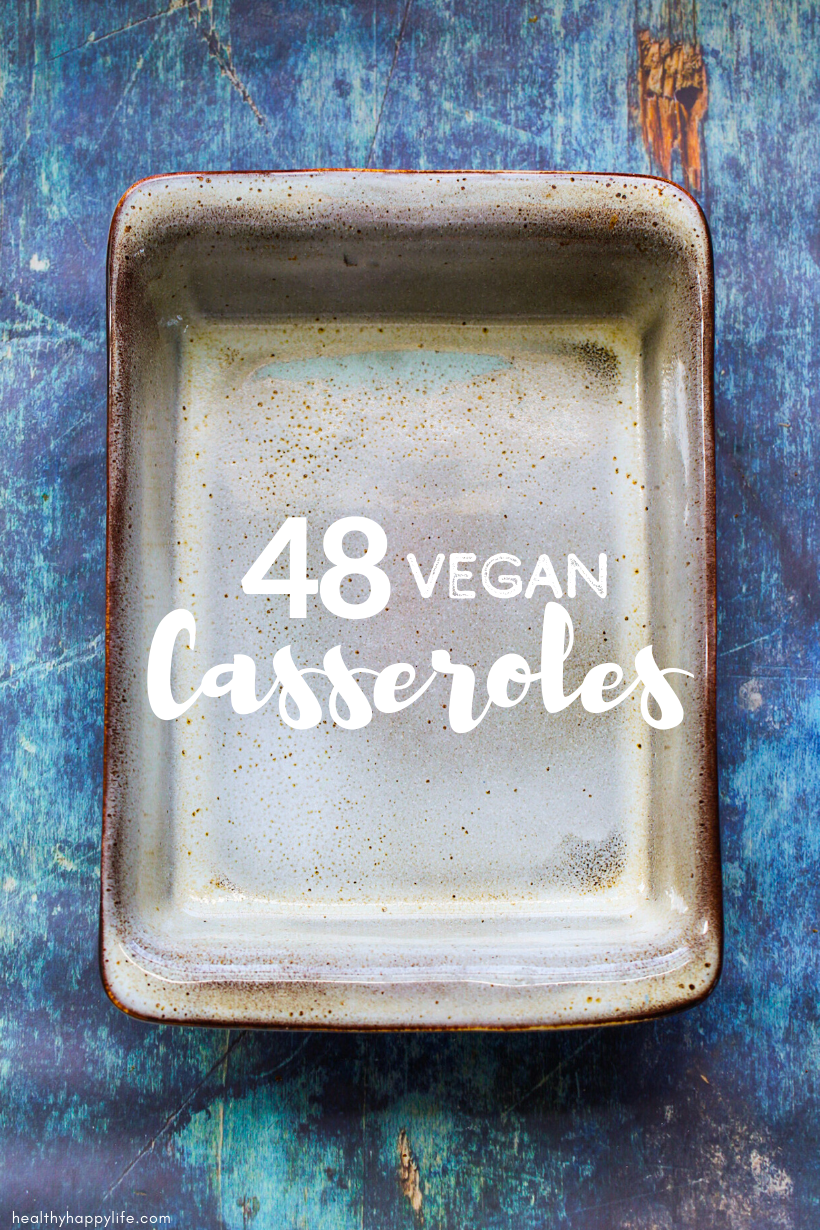 vegan casserole recipes