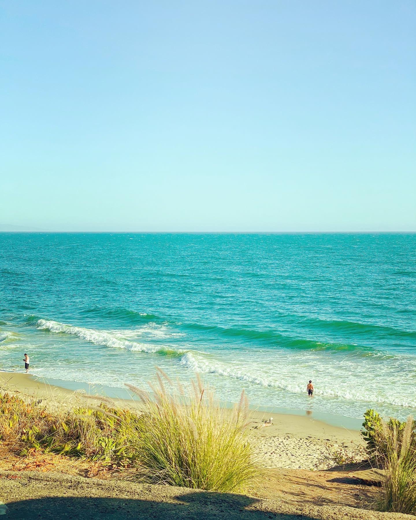 Malibu beach on a saturday
