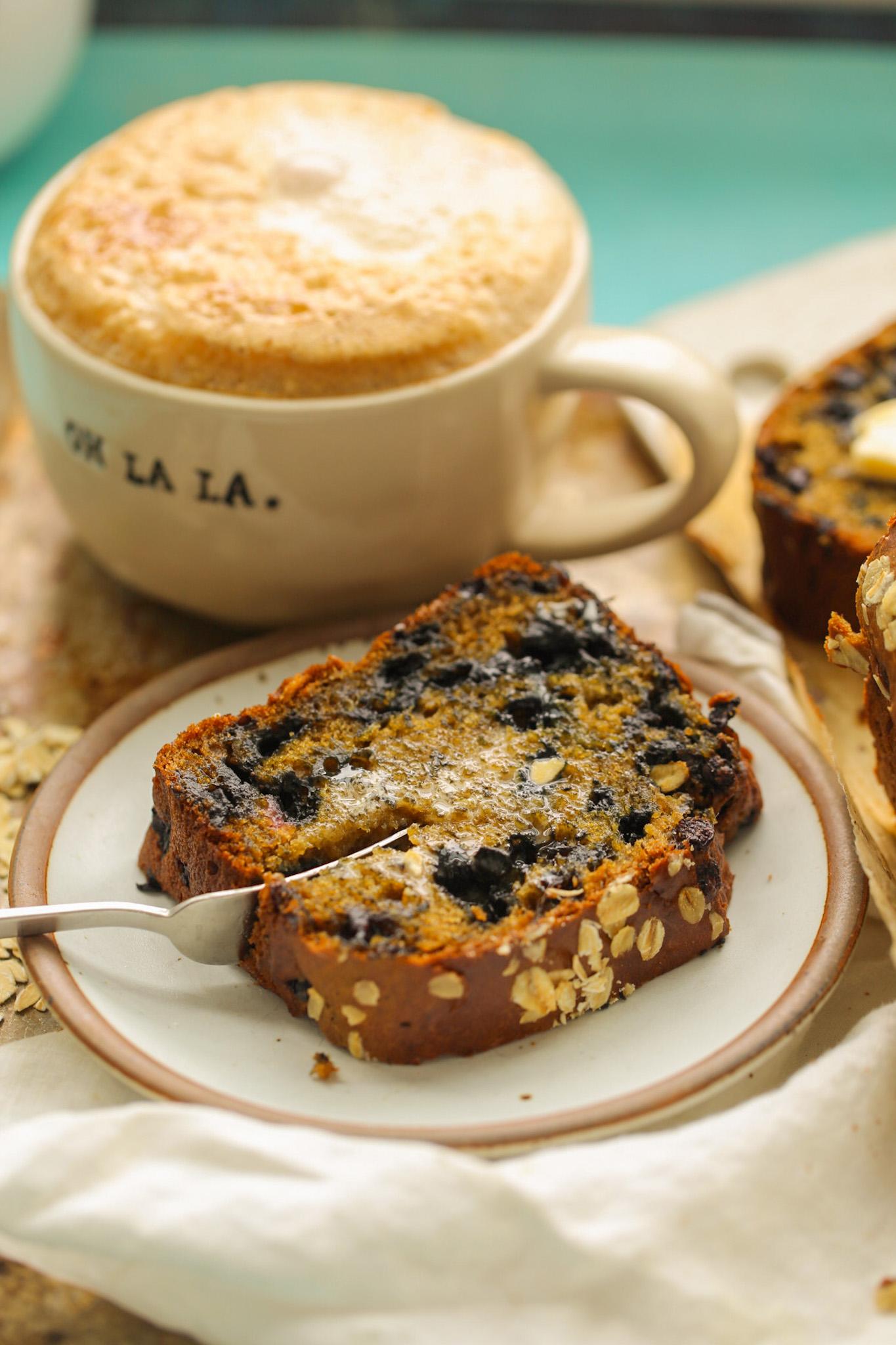 Blueberry Loaf breakfast