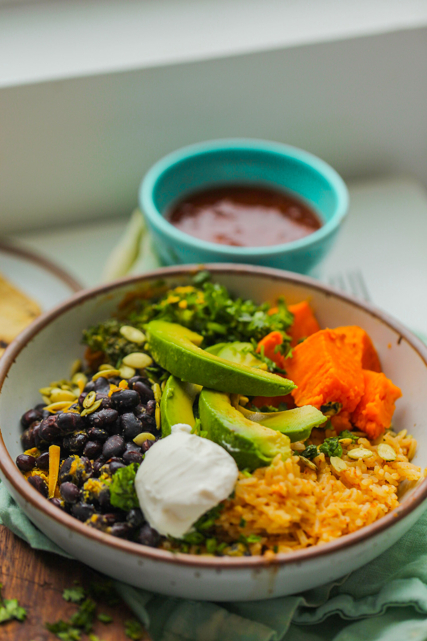 easy vegan burrito bowl
