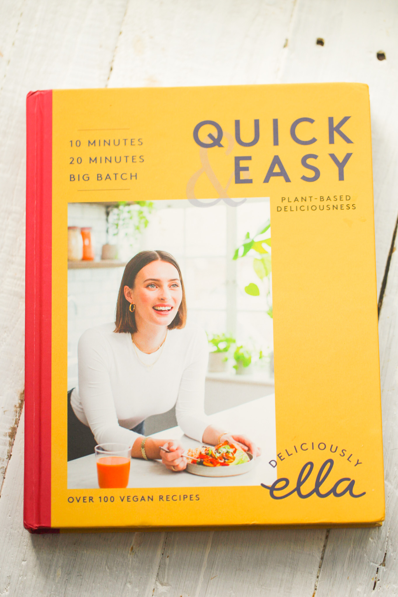 Quick & Easy Plant-Based Deliciousness by deliciously ella cookbook