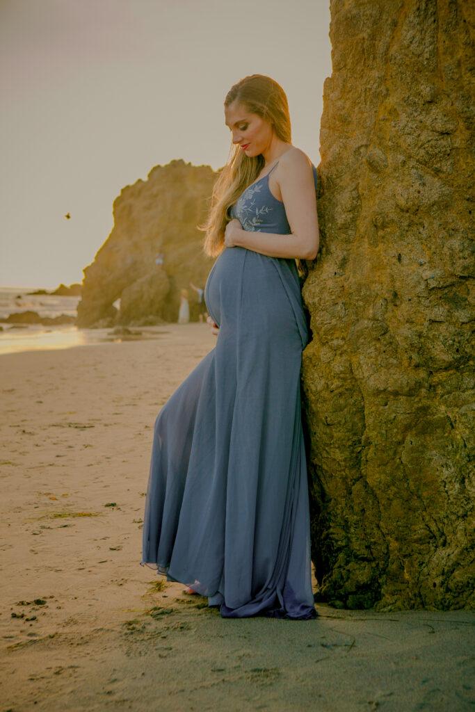 Sessão de fotos de maternidade - Malibu - HealthyHappyLife.com 2