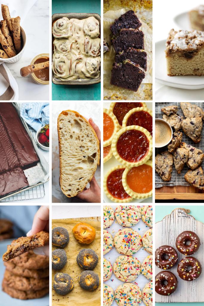 stress baking recipes by bloggers vegan