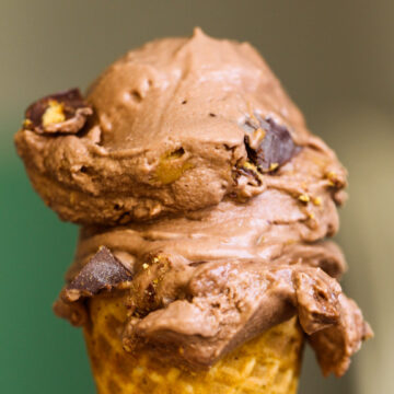 Dairy-Free Chocolate Peanut Butter Ice Cream