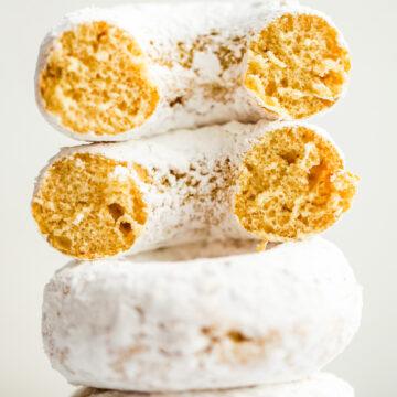 Donuts em pó veganos fofos e incríveis 6