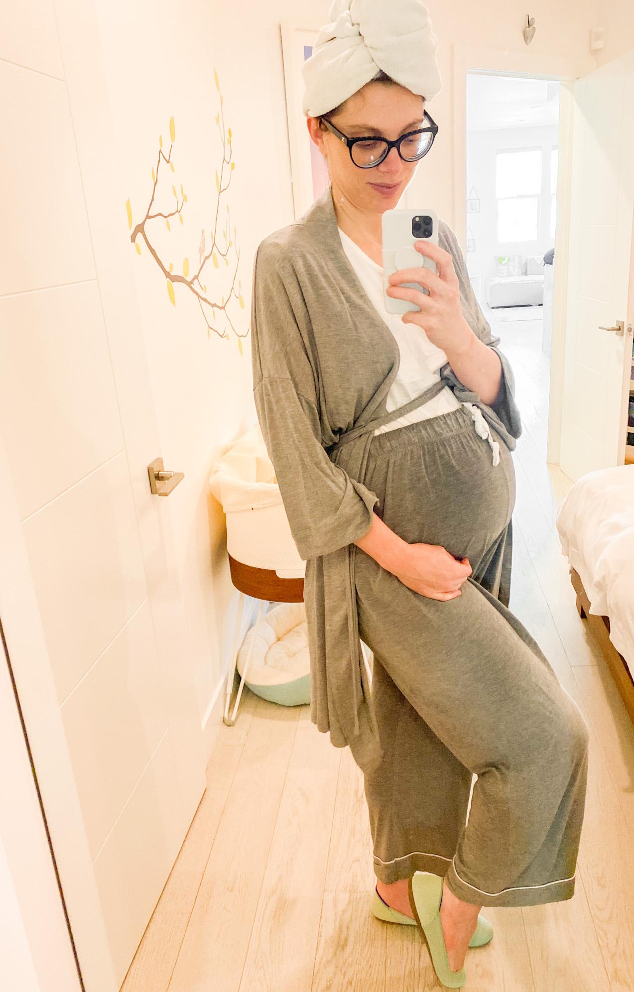 38 weeks pregnant pjs
