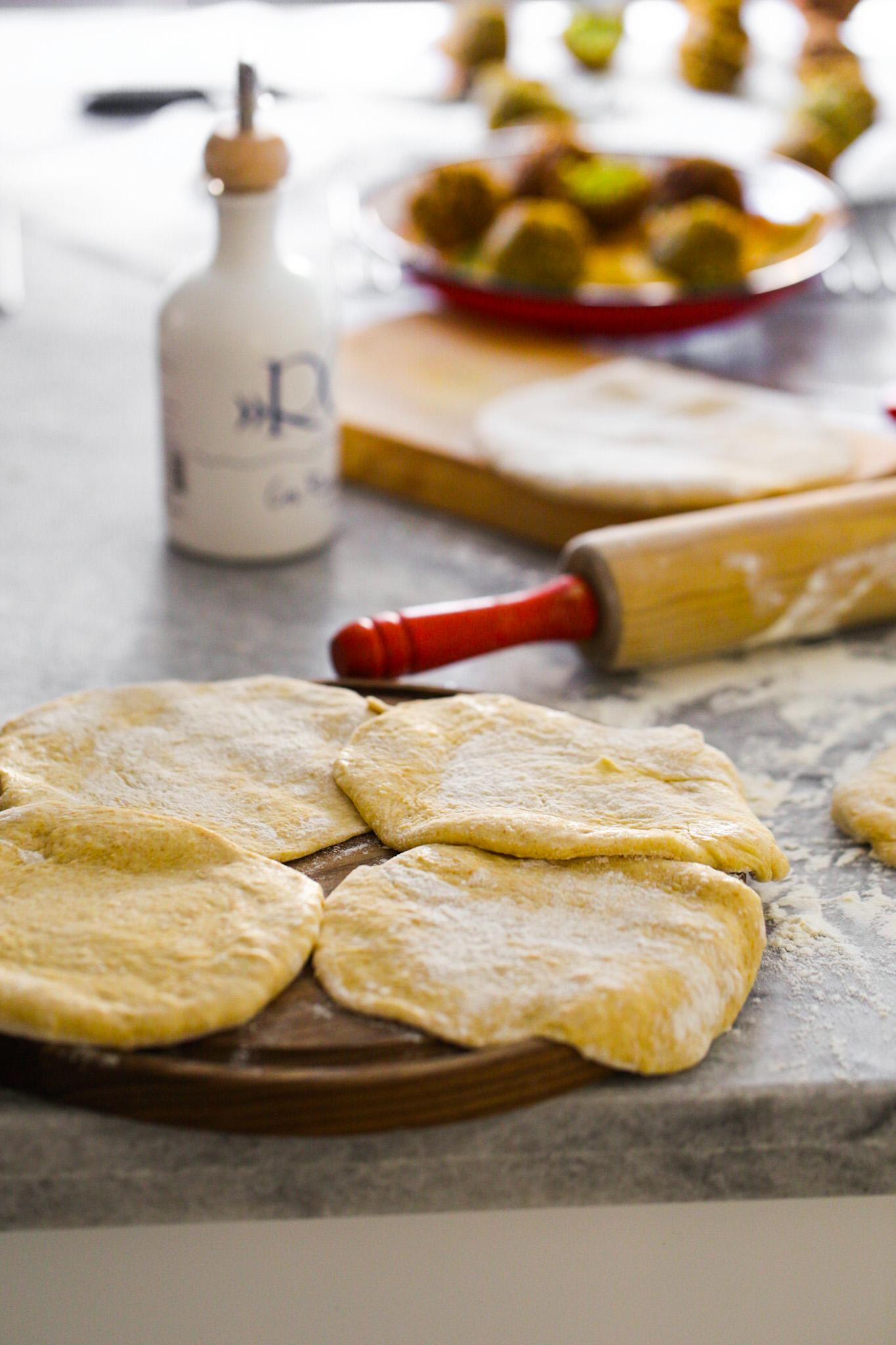 pita bread dough