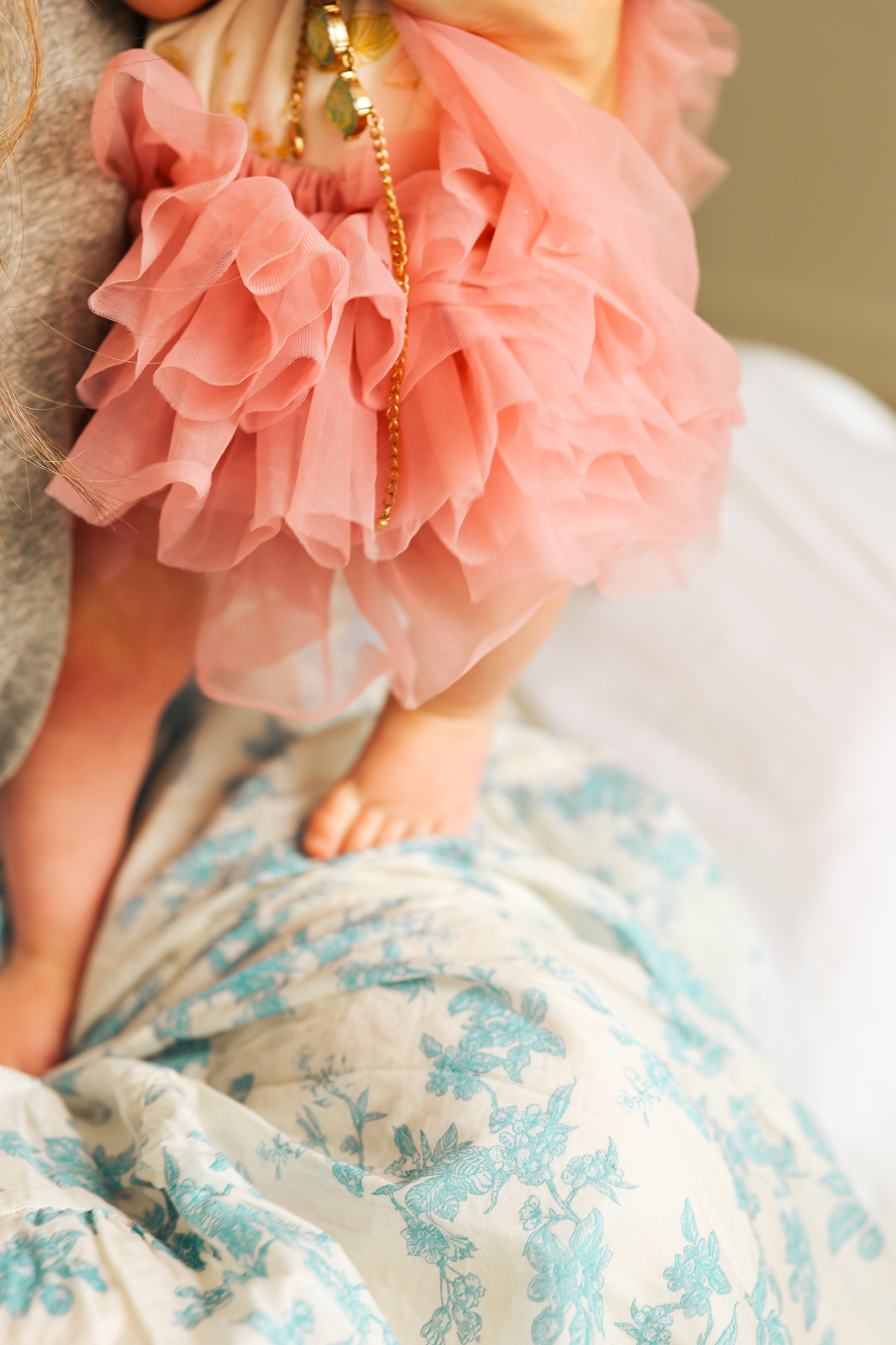 fluffy tutu and skirt pink