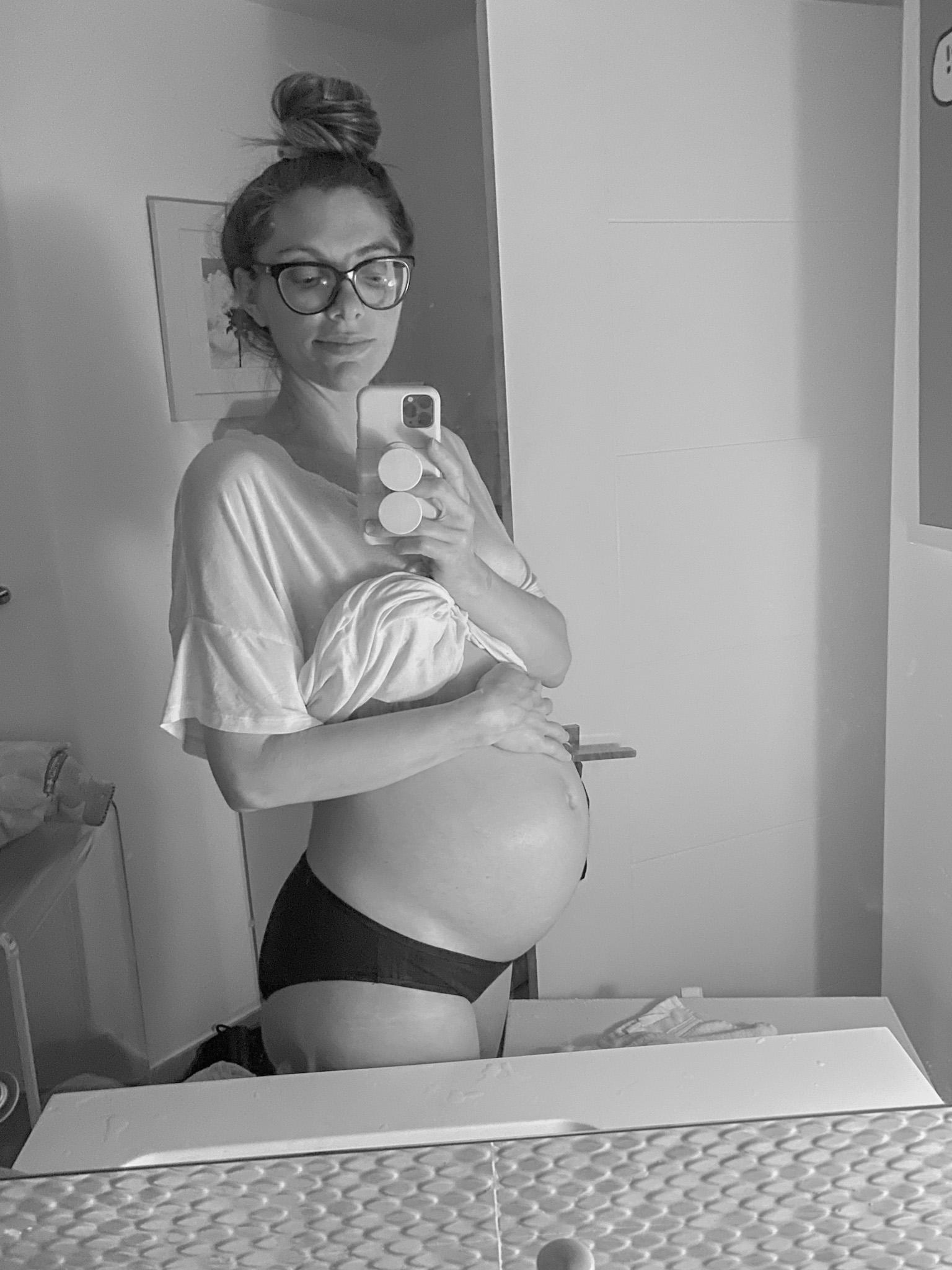 pregnant belly kathy