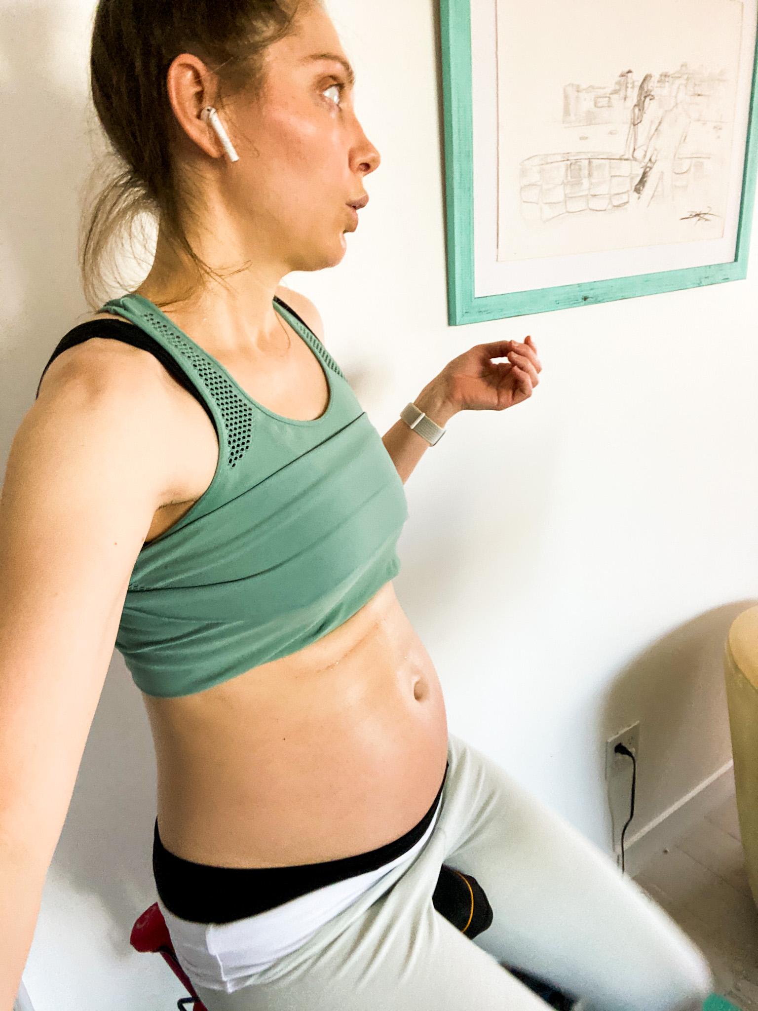 peloton while pregnant