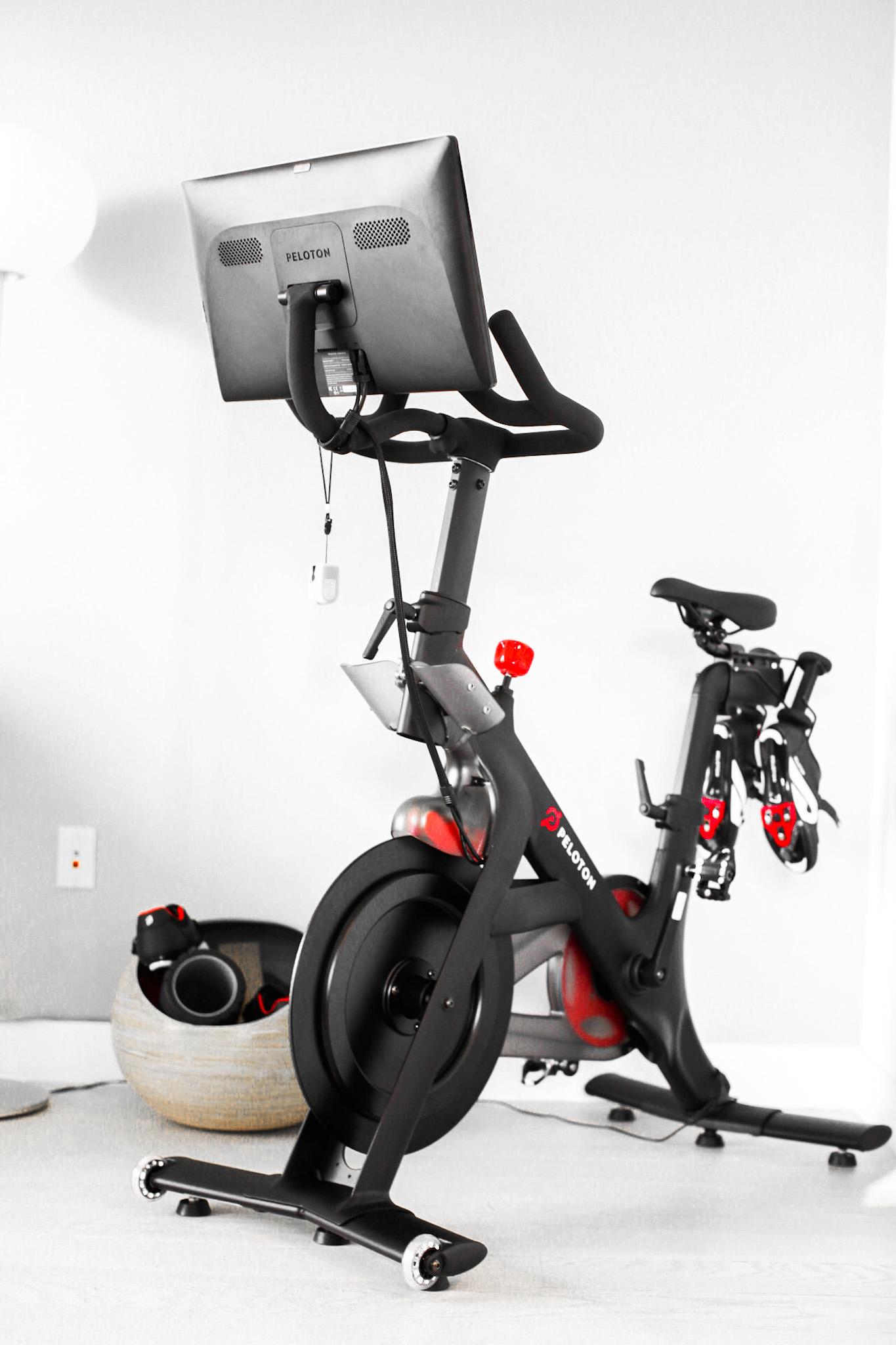 the peloton bike