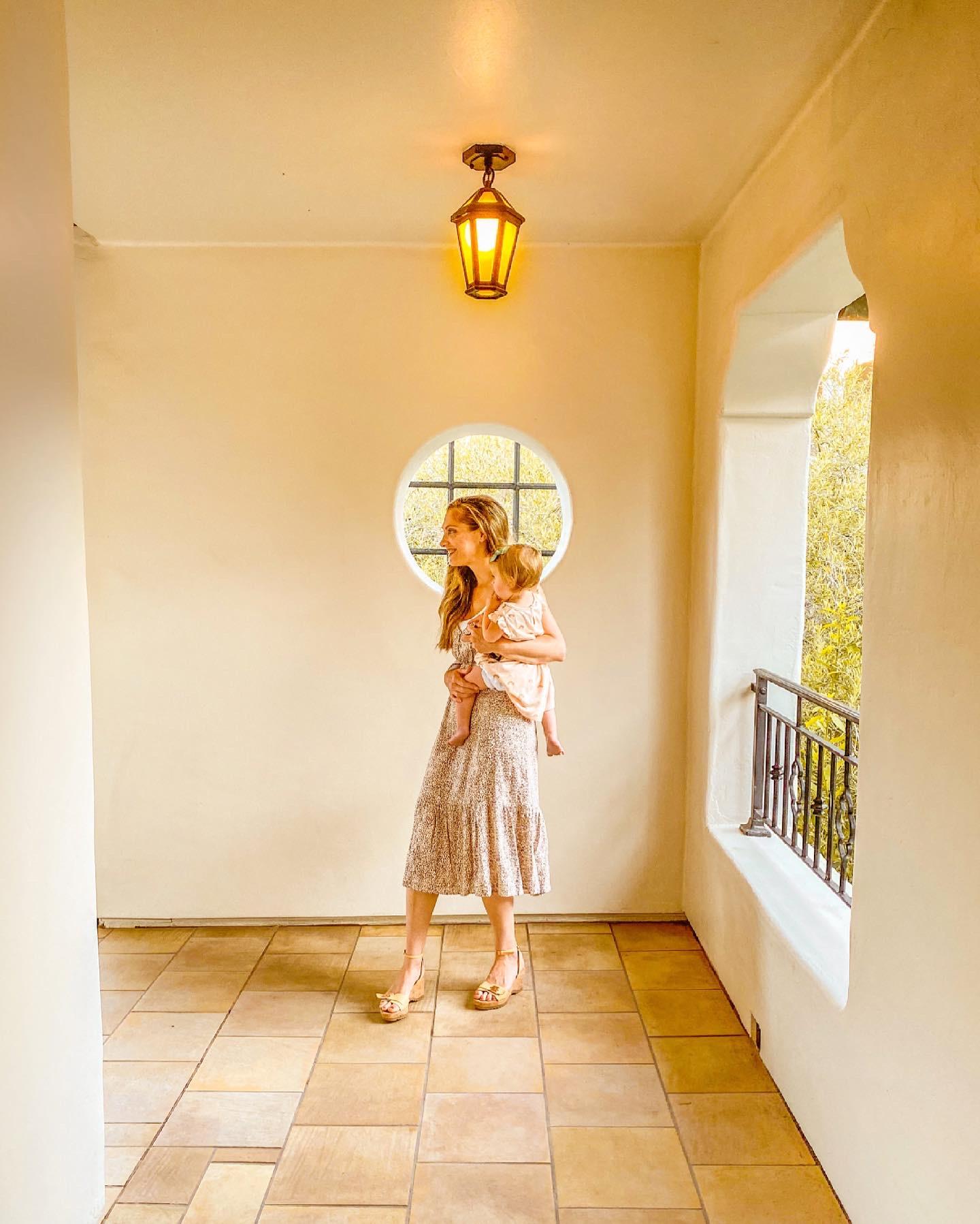 hallway at the baccarat Santa Barbara ritz