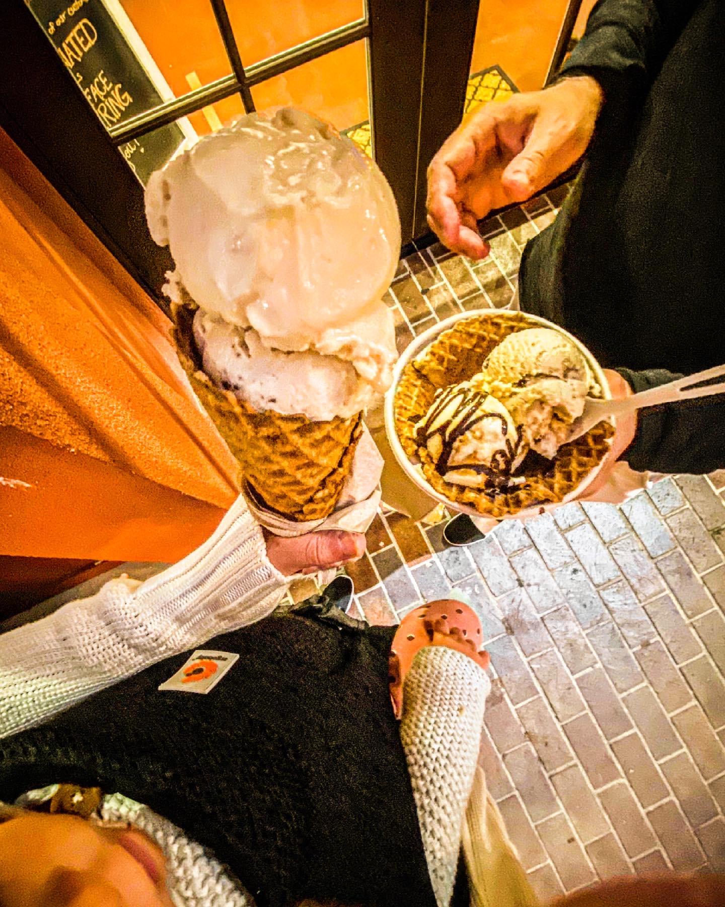 vegan ice cream in Monterey
