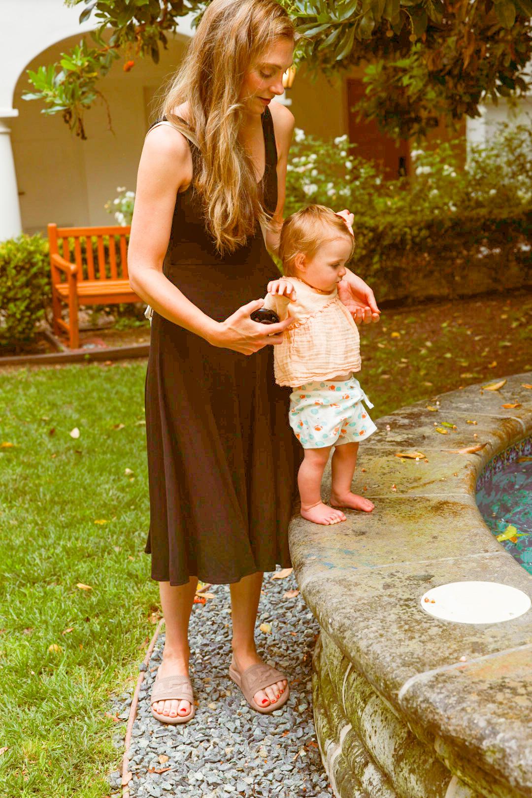 fountain at the ritz Santa Barbara